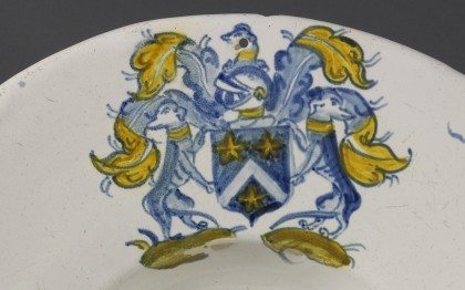 Plate with the Poterat Coat of Arms (presumed)