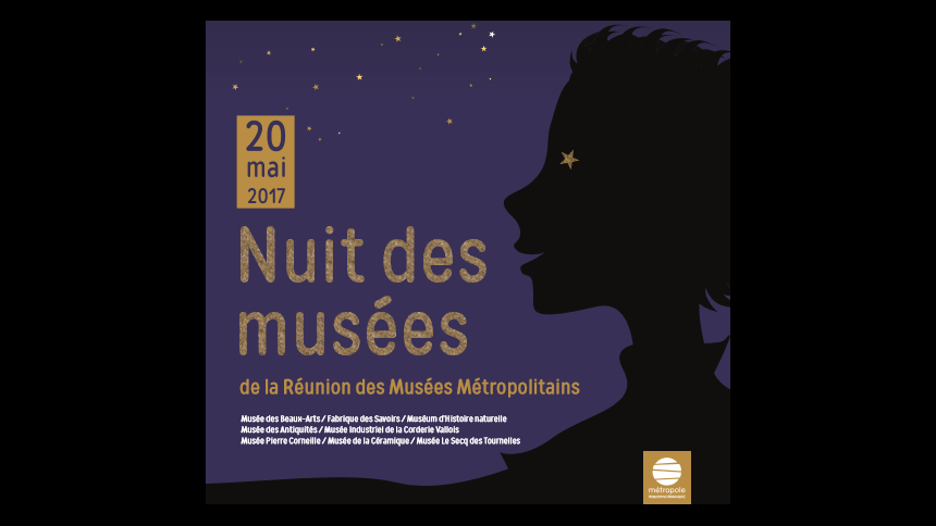 Samedi 20 mai 2017 : Nuit des musées au Musée de la Céramique